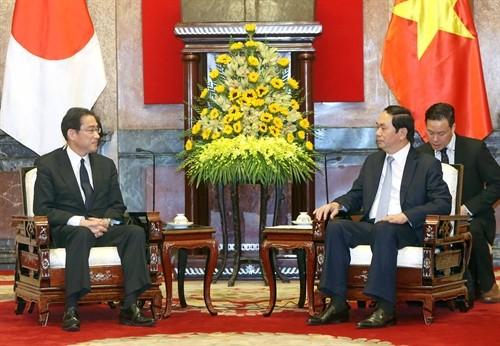 Comparten Vietnam y Japón intereses estratégicos, según presidente vietnamita - ảnh 1