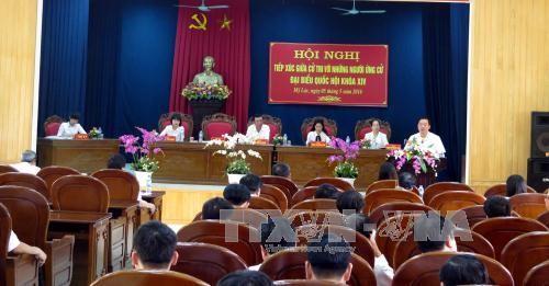Continúan contactos preelectorales en localidades vietnamitas - ảnh 1