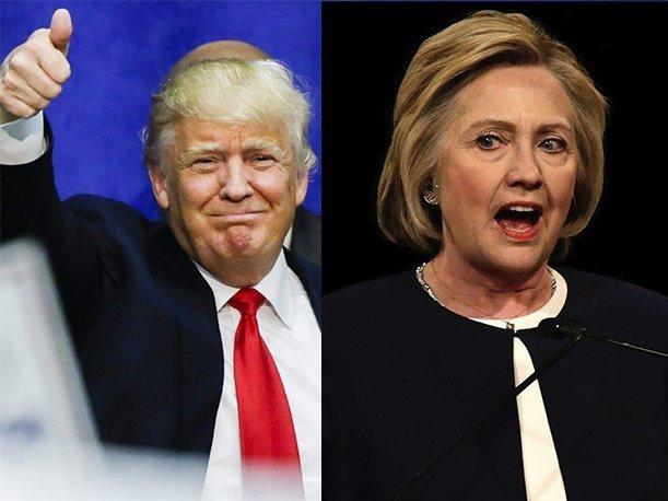 Hillary Clinton supera a Donald Trump en la última encuesta de campaña presidencial - ảnh 1