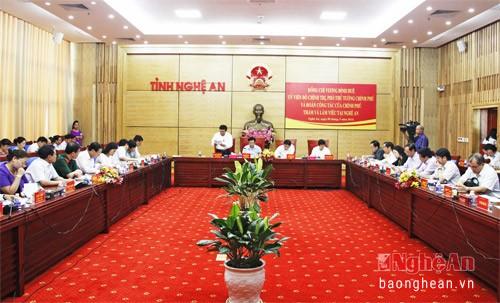 Vicepremier revisa cumplimiento de tareas socioeconómicas en Nghe An - ảnh 1