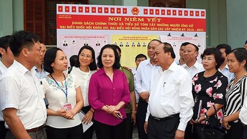 Primer ministro de Vietnam inicia su campaña electoral en Hai Phong - ảnh 1