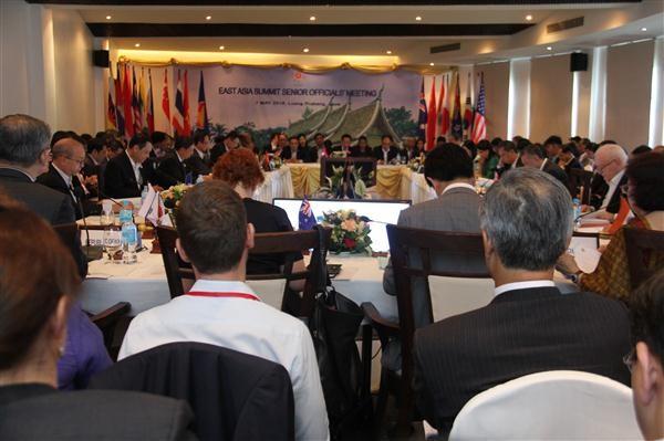 Celebran conferencia de alto nivel del Foro Regional de la ASEAN en Laos - ảnh 1