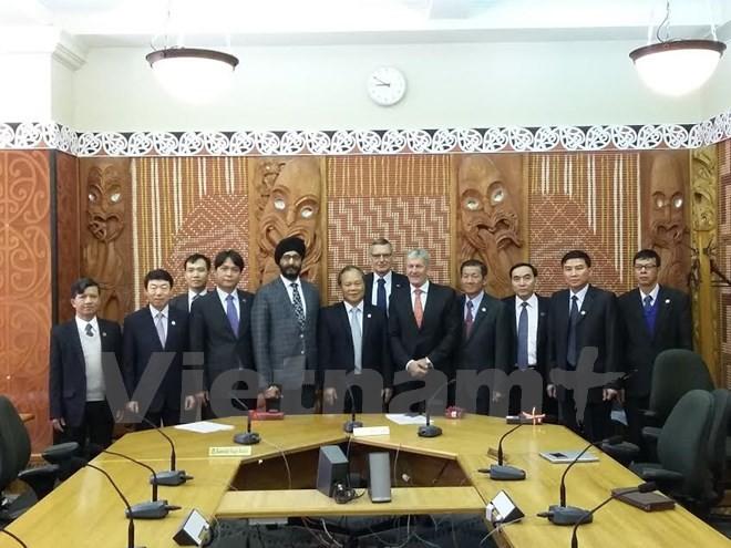 Vietnam fortalece cooperación legislativa con Nueva Zelanda y Australia  - ảnh 1