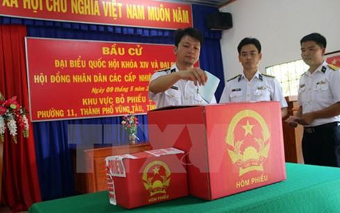 Anticipadas elecciones legislativas en Vung Tau - ảnh 1