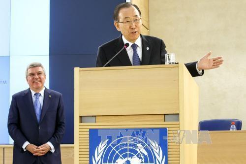 ONU pide adoptar un tratado global sobre la crisis migratoria - ảnh 1