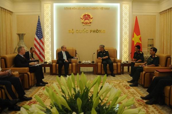 Prosperan relaciones Vietnam-Estados Unidos - ảnh 1