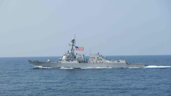 Buque estadounidense se acerca a territorio vietnamita ocupado por China - ảnh 1