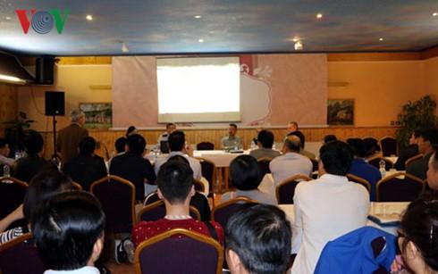 Efectúan coloquio sobre negocio para vietnamitas residentes en República Checa - ảnh 1