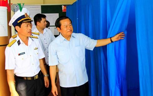 Revisan preparación preelectoral en Truong Sa - ảnh 1