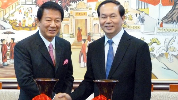 Destaca presidente vietnamita avances en relación con Japón  - ảnh 1