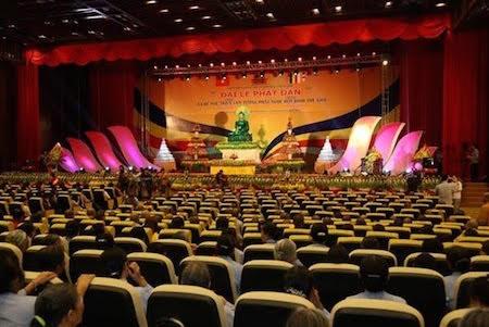Felicitan a Sangha Budista de Vietnam en conmemoración de la Iluminación de Buda - ảnh 1