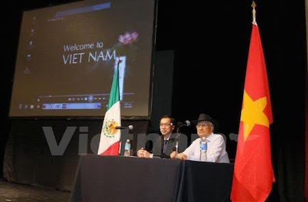 Efectuado en México seminario sobre patrimonios culturales vietnamitas  - ảnh 1