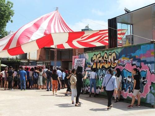 "Animado programa de arte callejero ""Street Art Fair 2"" en Hanoi - ảnh 1"