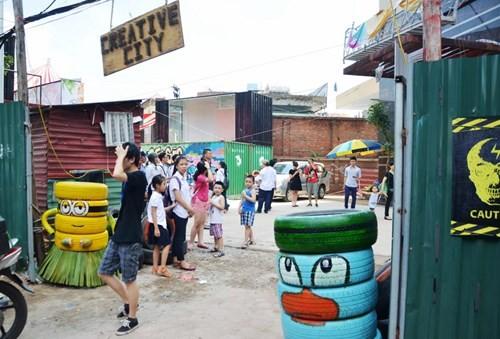 "Animado programa de arte callejero ""Street Art Fair 2"" en Hanoi - ảnh 2"