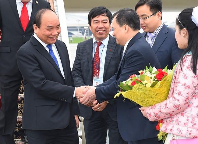 Llega primer ministro de Vietnam a Rusia - ảnh 1