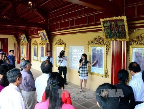 Presentan al público patrimonios documentales mundiales en Vietnam - ảnh 1