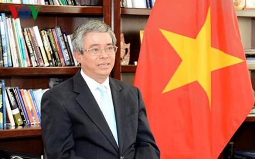 Vietnam y Estados Unidos ponderan confianza política y desarrollo económico en lazos bilaterales - ảnh 1