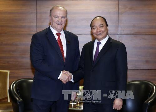 Fortalecen la cooperación Partidos Comunistas de Vietnam y Rusia - ảnh 1