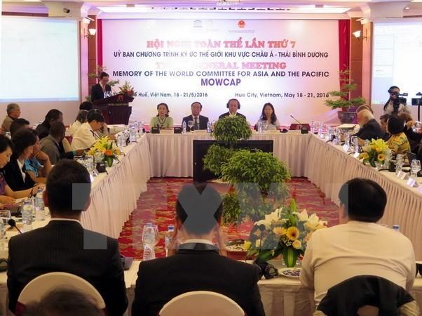 Vietnam acoge Conferencia del Comité de la Memoria del Mundo para Asia y Pacífico - ảnh 1