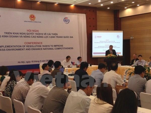 Vietnam aboga por mejorar índice de entorno empresarial y competitividad - ảnh 1