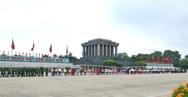 Conmemoración del aniversario 126 del natalicio de Ho Chi Minh en el país y exterior - ảnh 2