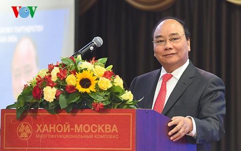 Premier vietnamita acude al Foro empresarial Vietnam-Rusia - ảnh 1