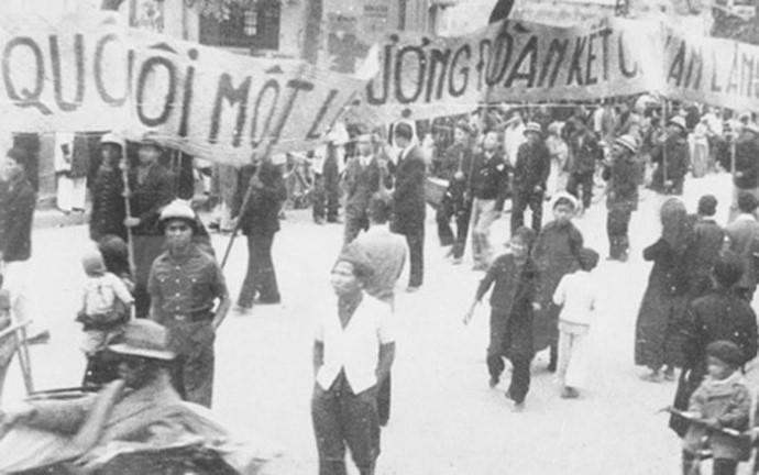 Imágenes históricas sobre las primeras elecciones generales de Vietnam - ảnh 4