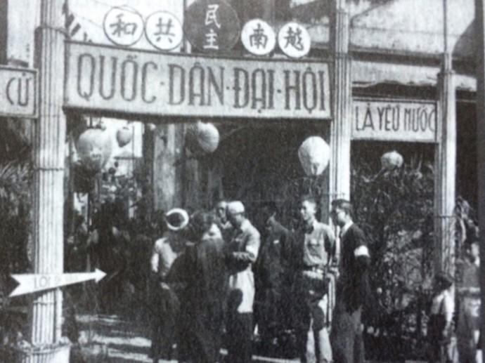 Imágenes históricas sobre las primeras elecciones generales de Vietnam - ảnh 2
