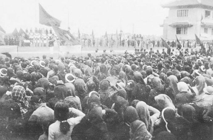 Imágenes históricas sobre las primeras elecciones generales de Vietnam - ảnh 6