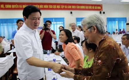 Diputados electos y sus programas de acción para bien del pueblo - ảnh 1