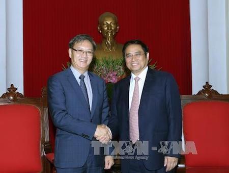 Vietnam y Laos fortalecen relaciones especiales  - ảnh 1