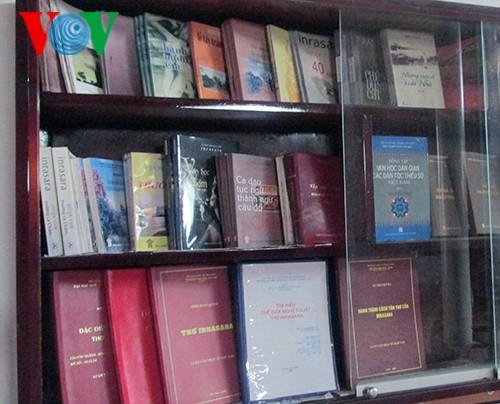 Biblioteca de Inrahani preserva valiosos libros de la etnia Cham - ảnh 2