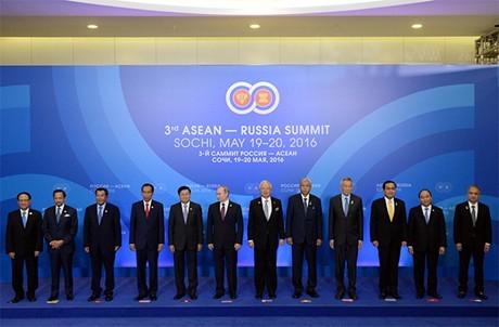 Concluyó exitosamente Cumbre Rusia-Asean - ảnh 1