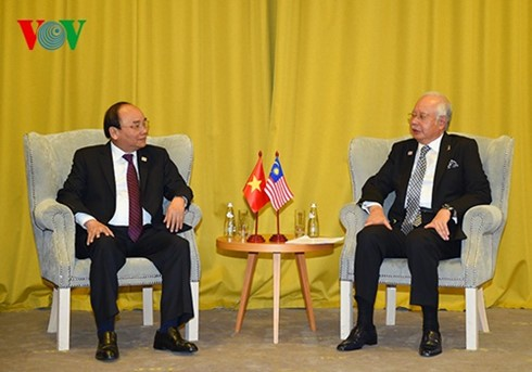 Premier vietnamita se reúne con homólogos de la Asean al margen de la Cumbre de Sochi - ảnh 1
