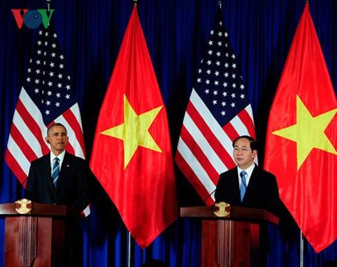 Vietnam y Estados Unidos ratifican voluntad común de afianzar relaciones bilaterales - ảnh 1