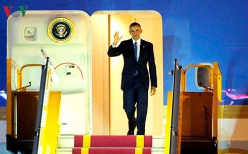 Prensa internacional ensalza visita del presidente estadounidense a Vietnam - ảnh 1