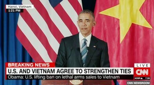 El levantamiento por Estados Unidos del embargo de armas a Vietnam atrae atención mundial - ảnh 1