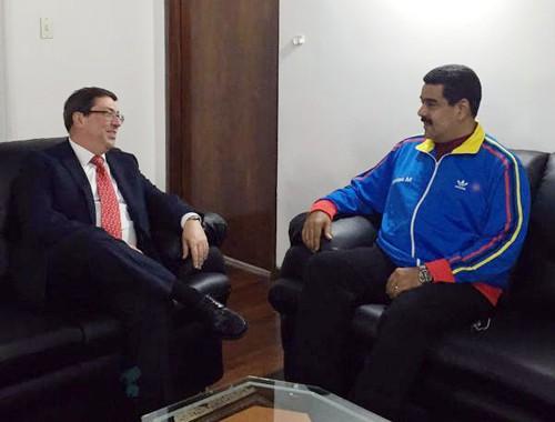 Canciller cubano visita Venezuela para acordar temas de cooperación bilateral - ảnh 1