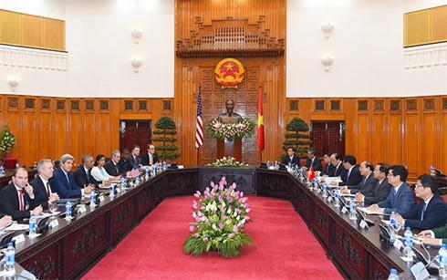 Vietnam y Estados Unidos buscan medidas para fortalecer las relaciones bilaterales - ảnh 1