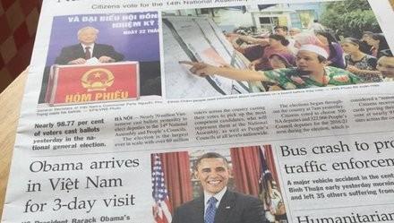 Visita del presidente Obama a Vietnam atrae atención de medios de comunicación internacionales - ảnh 1