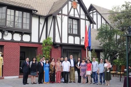 Afianzan relaciones Vietnam - Chile     - ảnh 1
