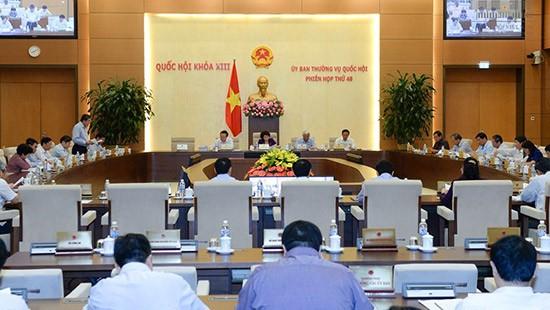 Sesiona reunión 48 del Comité Permanente del Parlamento vietnamita - ảnh 1