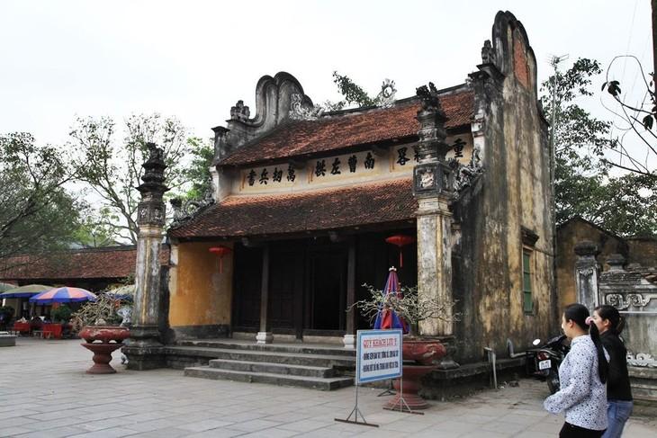 Templo de Kiep Bac y su vinculación con la extraordinaria obra de un general   - ảnh 3