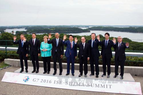 En Cumbre del G7 abogan por impulsar crecimiento económico y garantizar seguridad marítima - ảnh 1