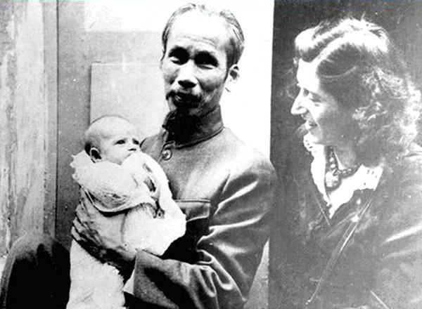 Presidente Ho Chi Minh en ojos de su ahijada francesa - ảnh 1