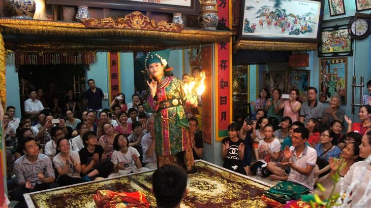 Culto a Diosas Madres: honor a valores perdurables de la nación vietnamita - ảnh 2