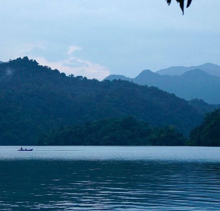 Belleza del lago de Ba Be - ảnh 7