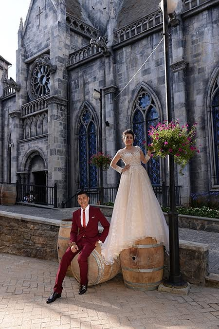 Romántica Ba Na en temporada de bodas   - ảnh 6