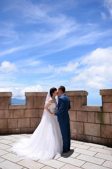 Romántica Ba Na en temporada de bodas   - ảnh 7