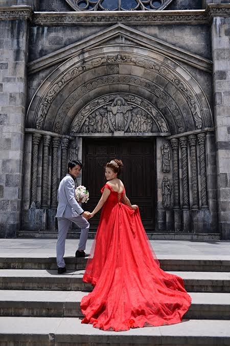 Romántica Ba Na en temporada de bodas   - ảnh 8